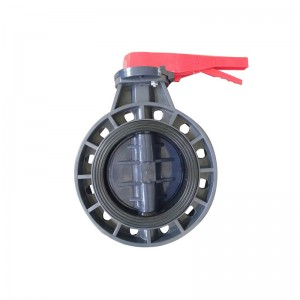big sale price upvc butterfly valve JIS 10k 8inch 12 hole