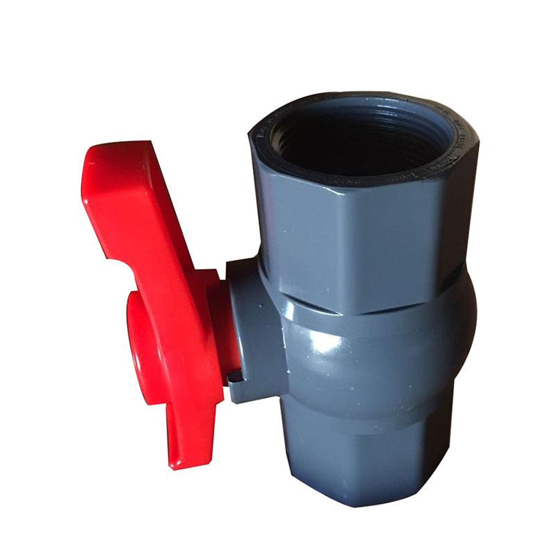 Factory Supply Dc 24v Water Pump High Pressure - Grey octagonal ball valve – DA YU PLASTIC