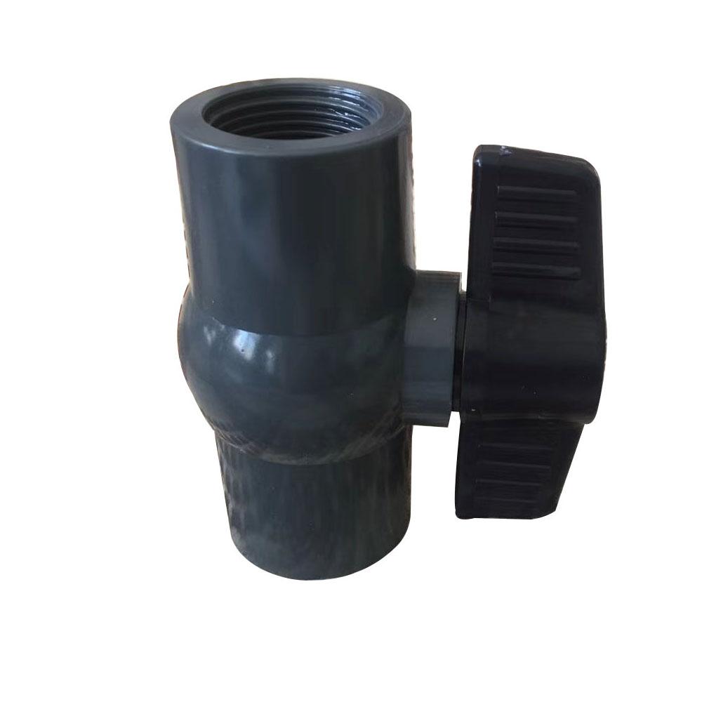 PVC ball valve Black handle Featured Image