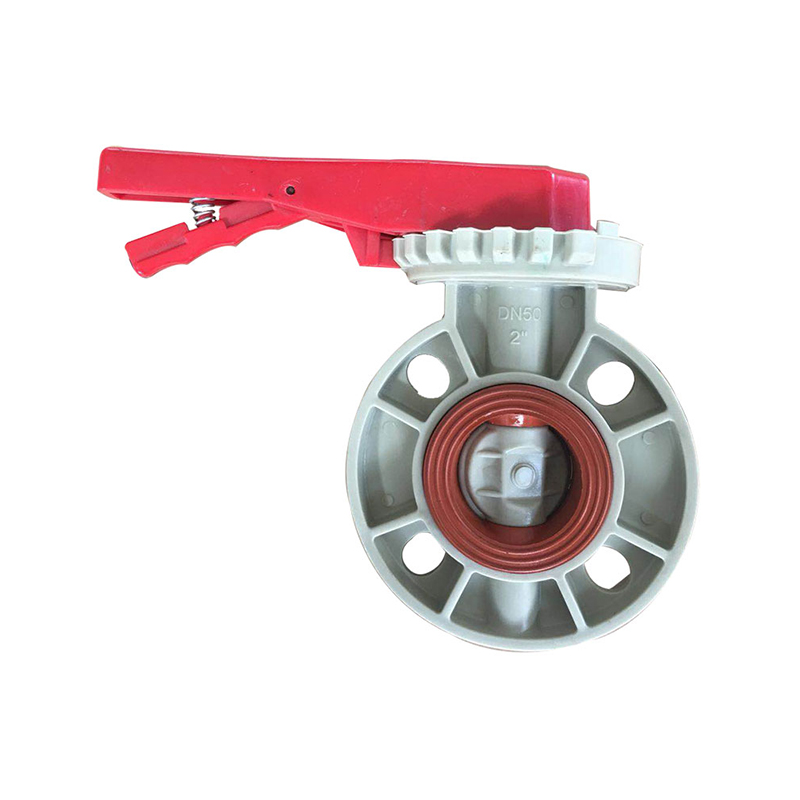 PPH butterfly valve FPM VITON seat Featured Image