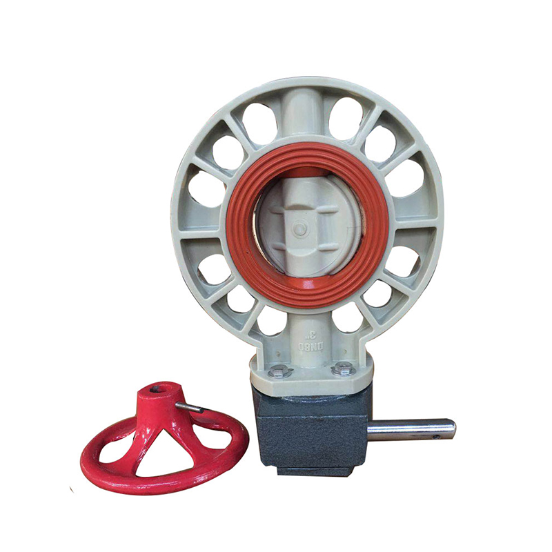 PPH butterfly valve FPM VITON lined Featured Image
