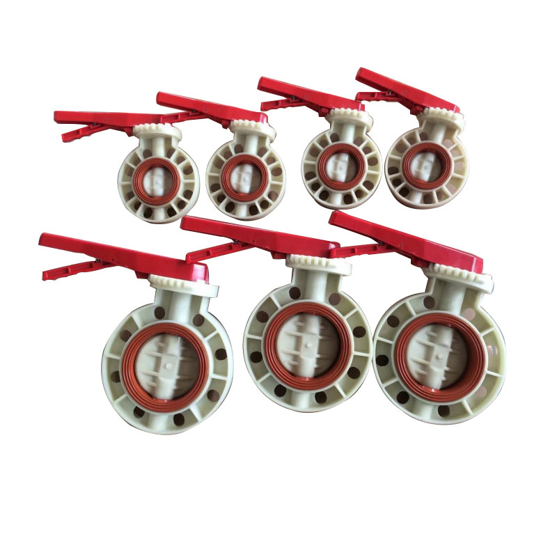 PP butterfly valve FPM VITON seat Featured Image