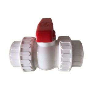 PE ball valve White body