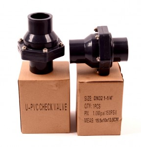 upvc non-return check valve