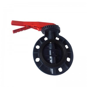 UPVC butterfly valve Rokturis Lever tips