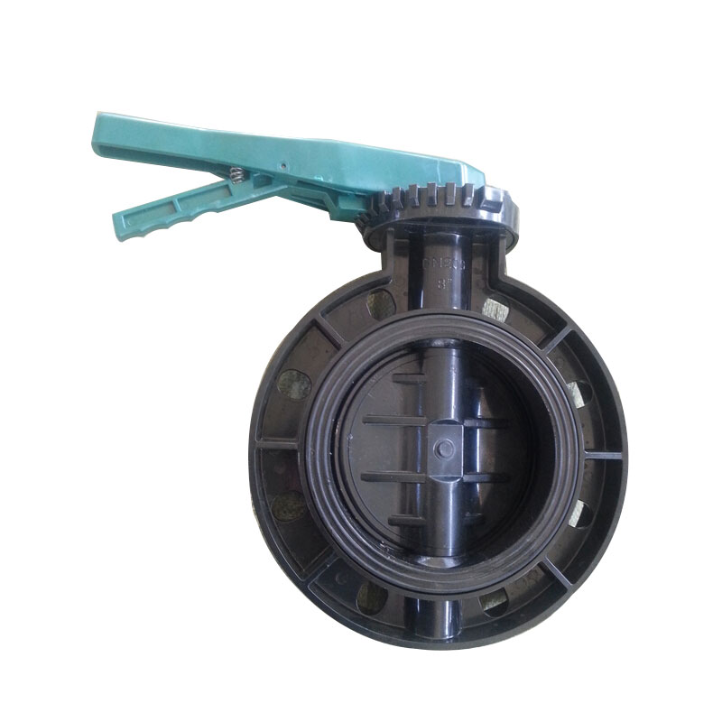 UPVC butterfly valve Black body Featured Image