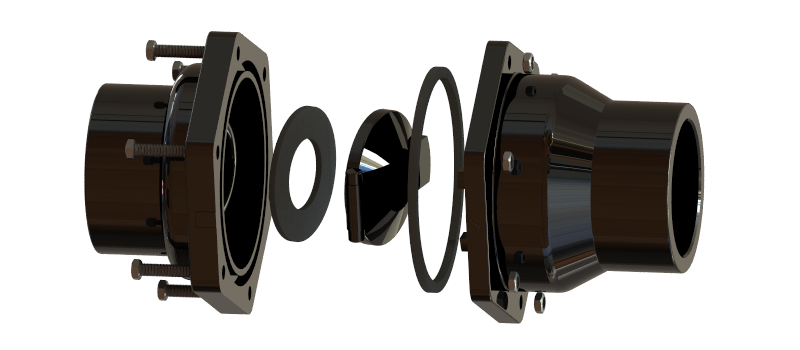 pvc swing check valve