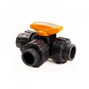 3-way pvc ball valve