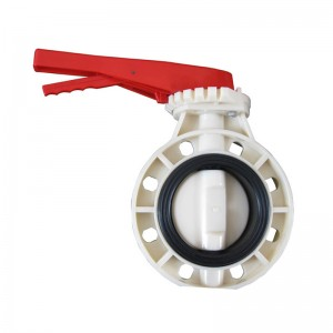 ABS butterfly valve Handle type