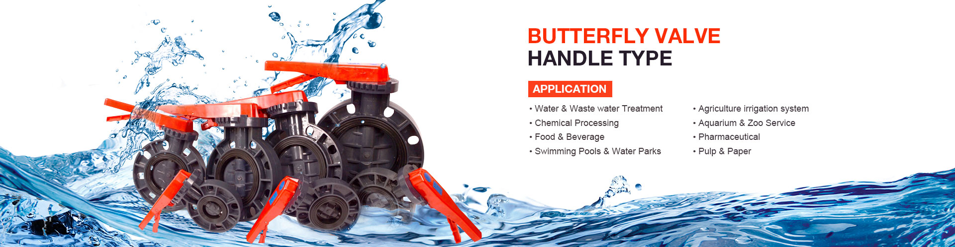 Butterfly-Valve-Handle-type
