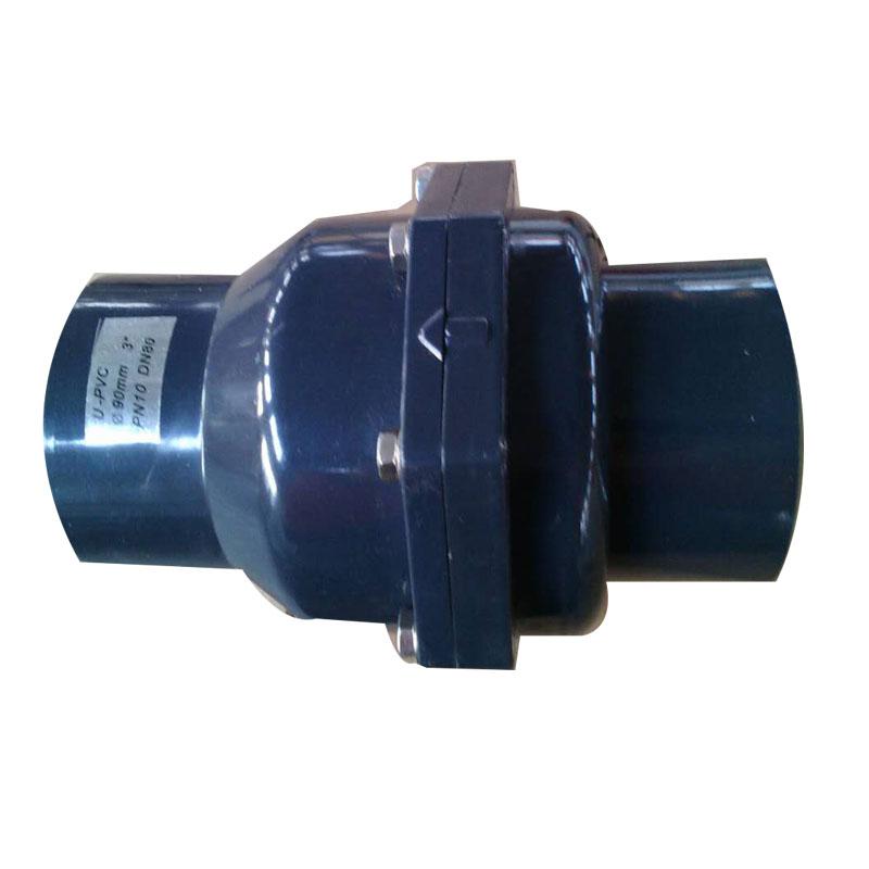 UPVC swing check valve horizontal installation Featured Image