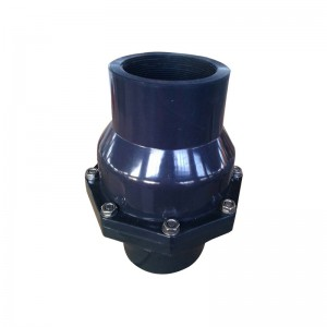 UPVC flap swing check valve