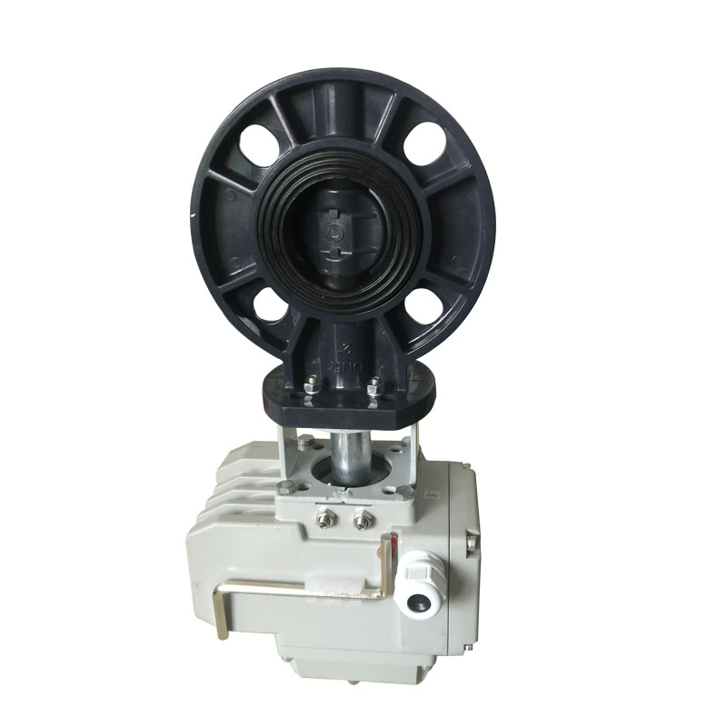 UPVC motorized butterfly valve Featured Image