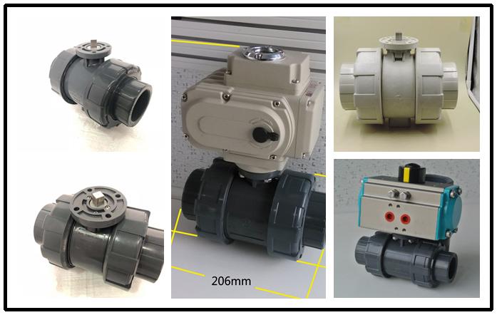 double union valve